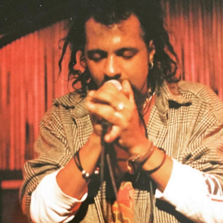 Giovanni Pinzón, durante la segunda etapa de la agrupación. (Foto: Bohemis Suburbana oficial)