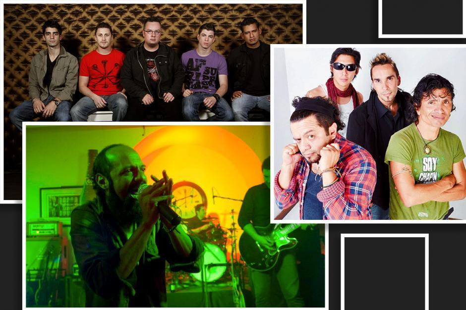 Bohemia Suburbana, Viernes Verde y El Clubo cerrarán el año con un concierto. (Diseño: Javier Marroquín/Soy502)