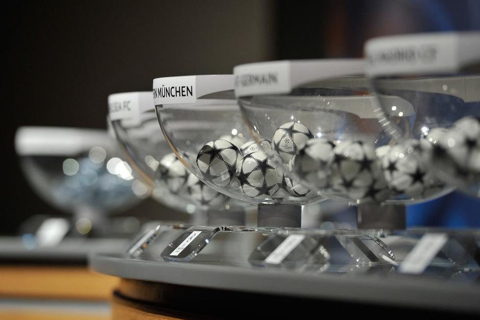 Los bombos para el sorteo de la fase de grupos de la UEFA Champions League ya están preparados