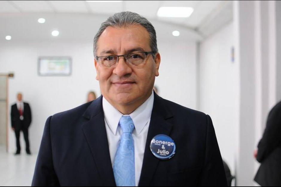 Bonerge Mejía fue electo por el Colegio de Abogados y Notarios de Guatemala. (Foto: Jesús Alfonso/Soy502)