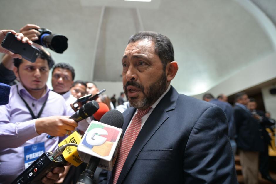 López Bonilla señala que la responsabilidad de esa muerte no es solo del Ministerio de Gobernación, lo es también del MP. (Foto: Wilder López/Soy502)