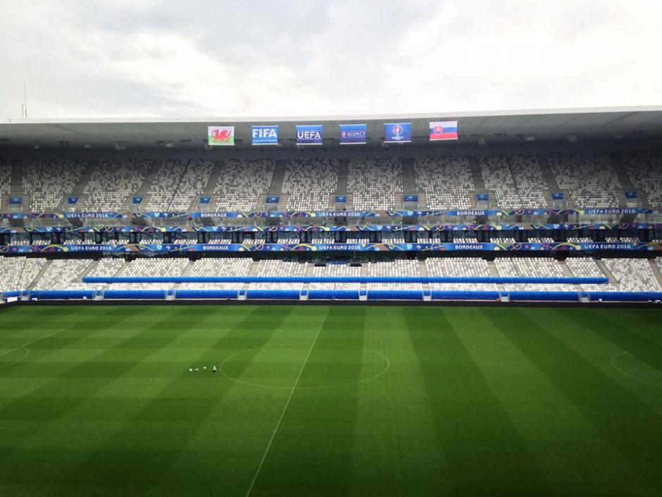 El estadio de Bordeaux, es conocido como Matmut Atlantiqueo Bordeaux Atlantique. (Foto: Facebook/Stade Bordeaux)