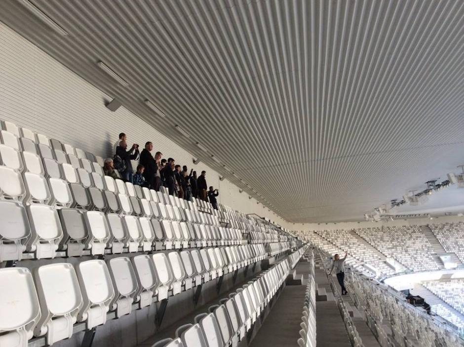 El estadio fue construido para albergar los partidos de la EURO 2016. (Foto: Facebook/Stade Bordeaux)