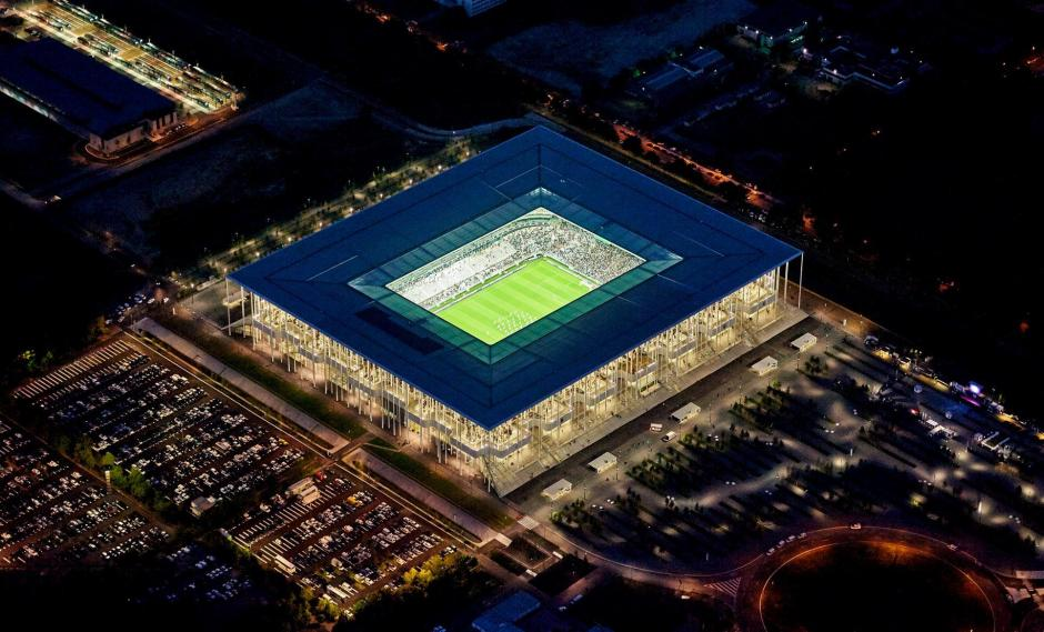 El estadio Bordeaux Atlantique tuvo un costo de 184 millones de euros. (Foto: Facebook/Stade Bordeaux)