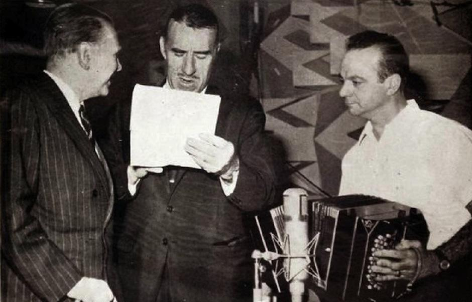 """Esta es la portada del disco """"El tango"""", con letras de Borges y música de Astor PIazzolla. (Foto: El País)"""