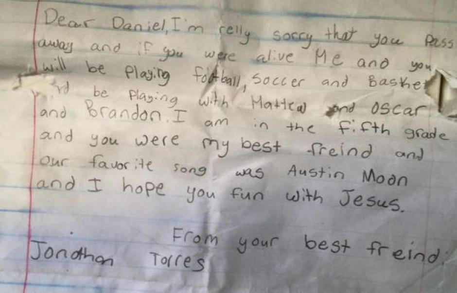 Esta fue la carta que le envió Steve a Jonathan.
