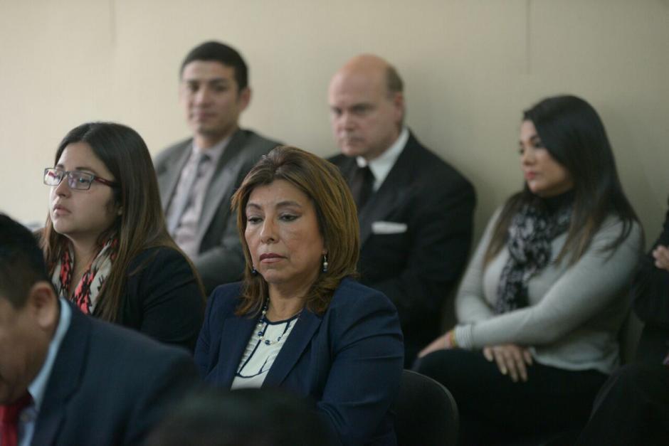 Así luce Anabella de León a meses de ser enviada a prisión preventiva. (Foto: Wilder López/Soy502)