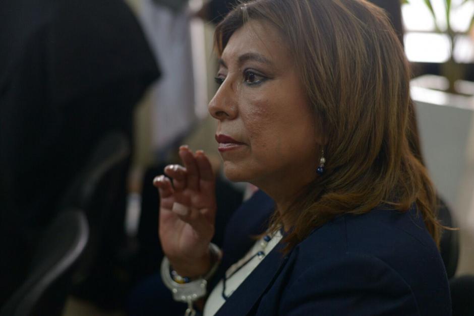 """De León y otras 16 personas están ligadas a proceso en el caso """"Botín Registro de la Propiedad"""". (Foto: Wilder López/Soy502)"""