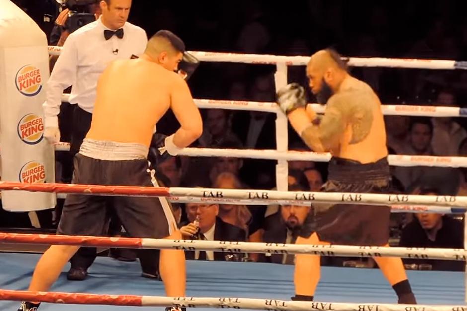 La pelea duró pocos minutos. (Foto: YouTube)