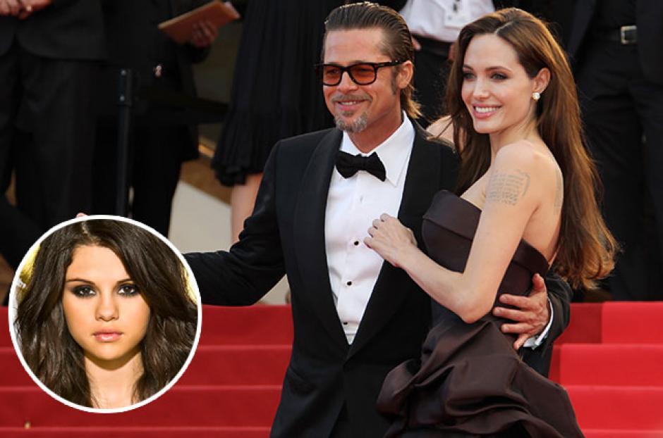 Desde que Brad Pitt y Selena Gomez coincidieron en los Globos de Oro se rumora que tuvieron una cita romántica. (Foto: Quintanaroohoy.com)