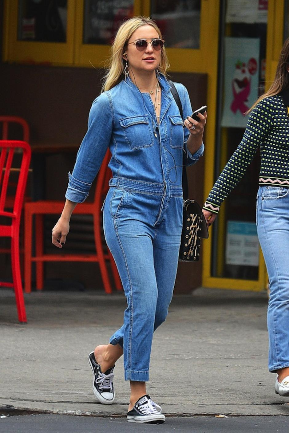 La actriz fue vista en las calles de Nueva York. (Foto: FameFlynet)