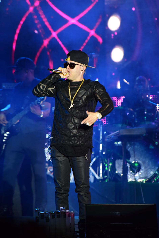 La música de Yandel llenó las expectativas de los asistentes. (Foto: Abner Salguero/Nuestro Diario)