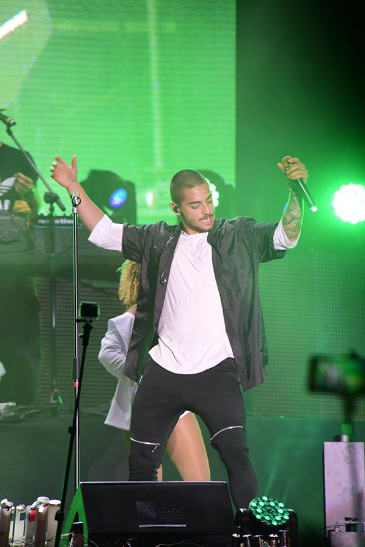 El cantante colombiano, Maluma, es uno de los favoritos de los guatemaltecos. (Foto: Abner Salguero/Nuestro Diario)