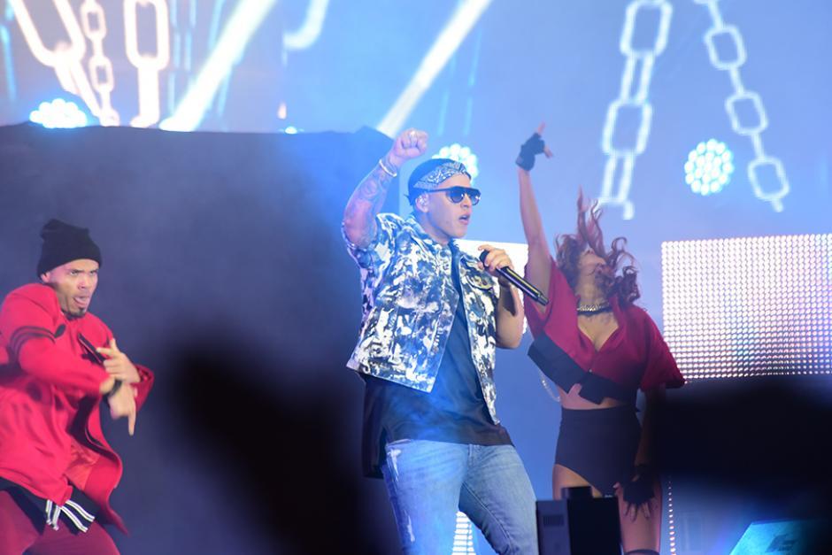 Al cierre del show el más aclamado: Daddy Yankee. (Foto: Abner Salguero/Nuestro Diario)