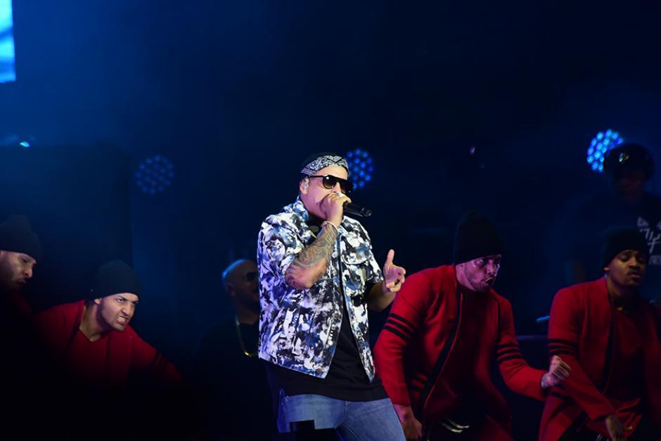 La música del artista puertorriqueño, Daddy Yankee, fue el broche de oro del show. (Foto: Abner Salguero/Nuestro Diario)