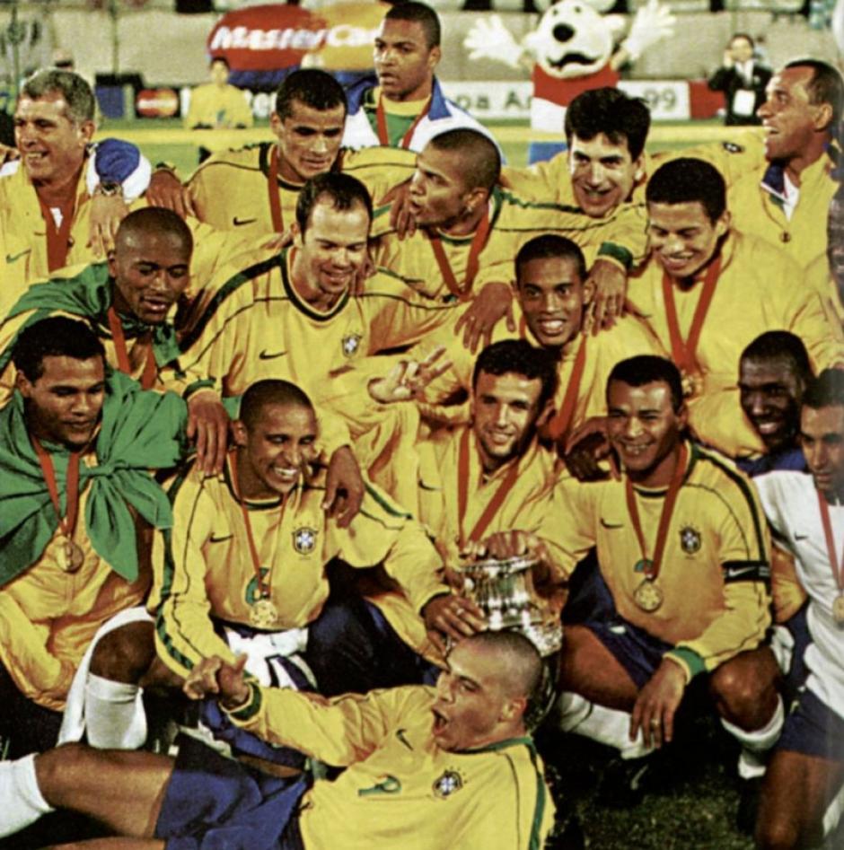 La selección de Brasil ganó la Copa América 1999. (Foto: Conmebol)