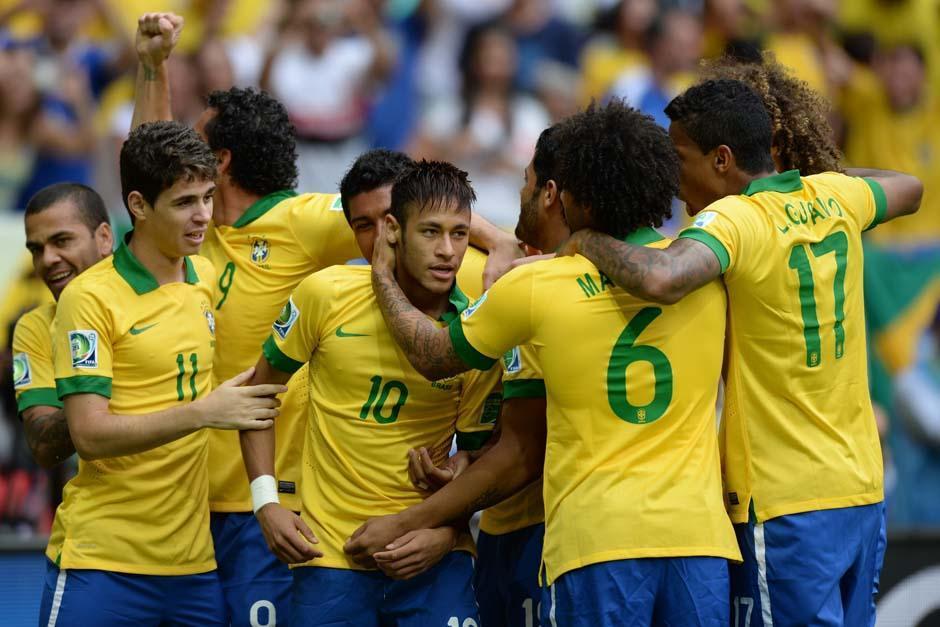 Brasil será el anfitrión del Mundial y Neymar ya sueña una final en contra de la Argentina de Lionel Messi. (Foto: AFP)