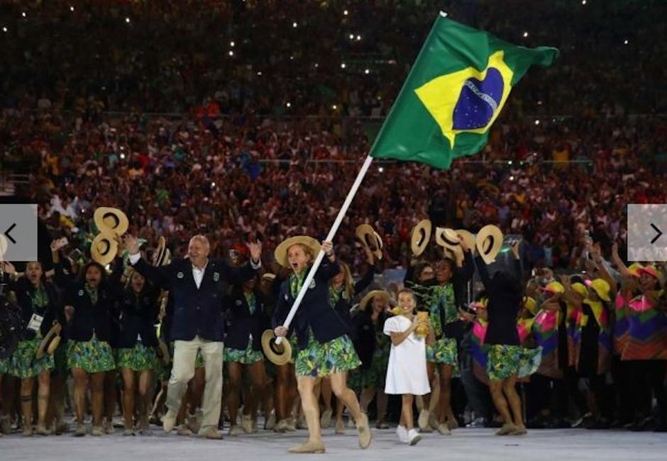 Los trajes de Brasil fueron tan 2016. (Foto: Vogue)