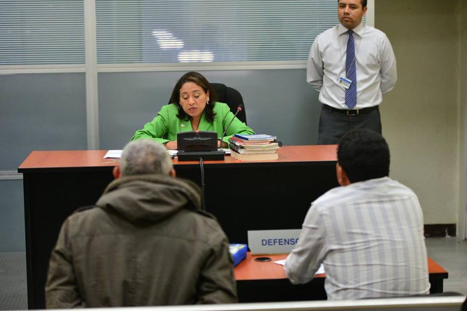 Un juzgado de turno le hizo saber los motivos de su detención a Brayan Jiménez antes de dictaminar que fuera a la cárcel de Mariscal Zavala. (Foto: Wilder López/Soy502)