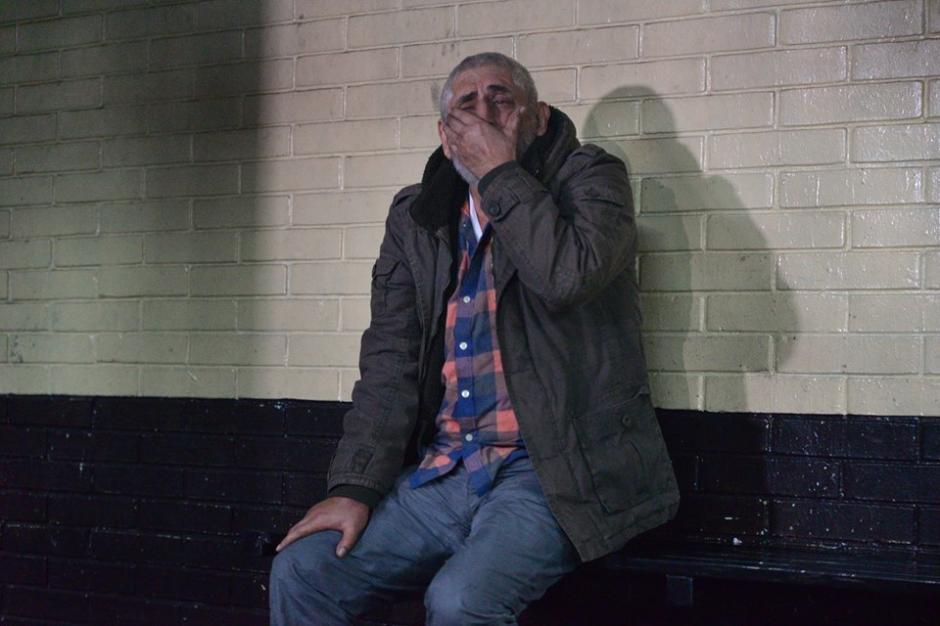 Brayan Jiménez fue llevado a la carceleta de la Torre de Tribunales a espera de conocer los motivos de su detención. (Foto: Wilder López/Soy502)