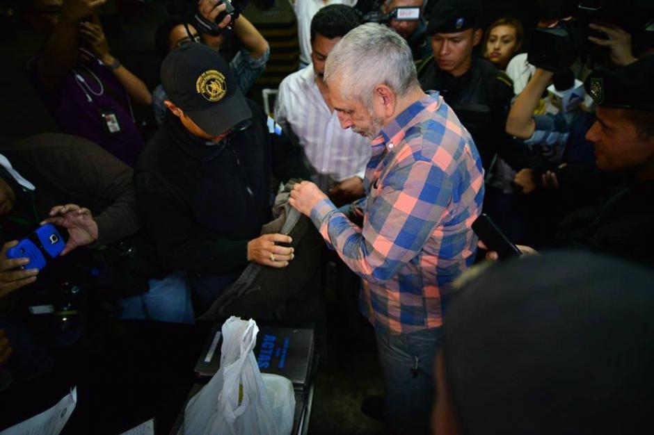 Brayan Jiménez fue trasladado a la base militar Mariscal Zavala por autorización judicial. (Foto: Wilder López/Soy502)