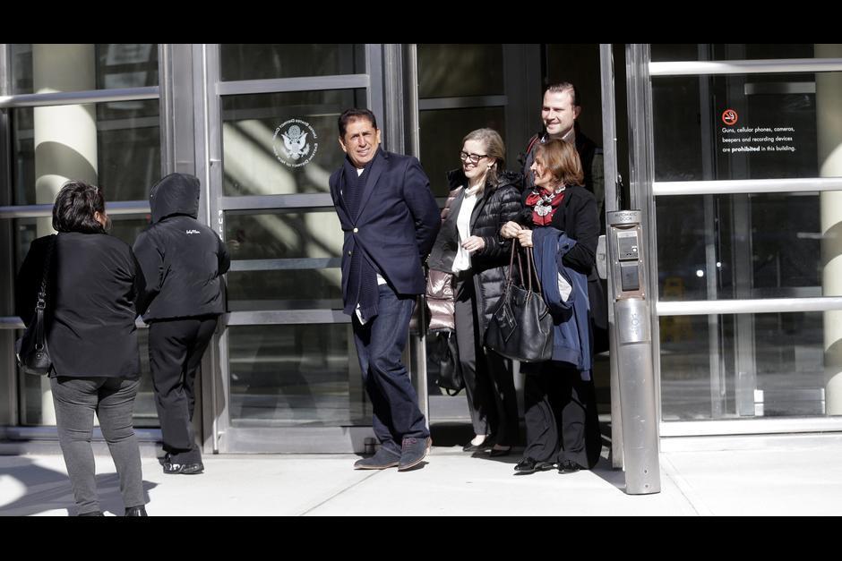 Jiménez captado al salir de la corte en Nueva York. (Foto: Archivo/Soy502)