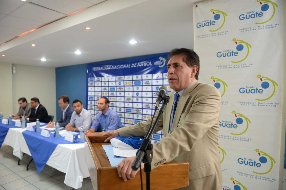 Brayan JIménez dirigió en dos períodos la Fedefutbol. (Foto: Archivo/Soy502)
