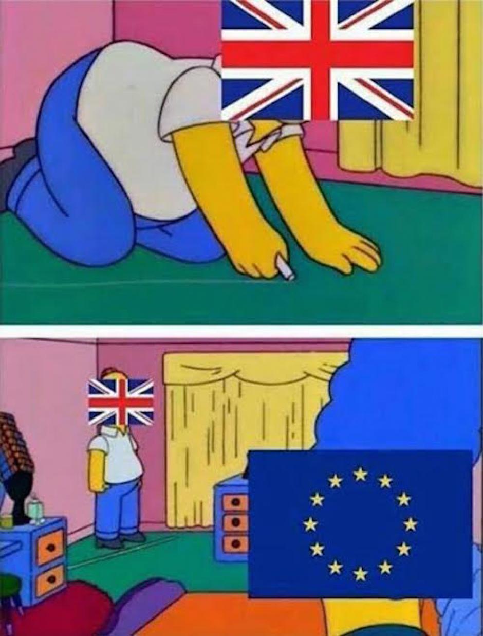 """Varios """"memes"""" criticaron con humor la decisión de los británicos. (Imagen: sopitas.com)"""