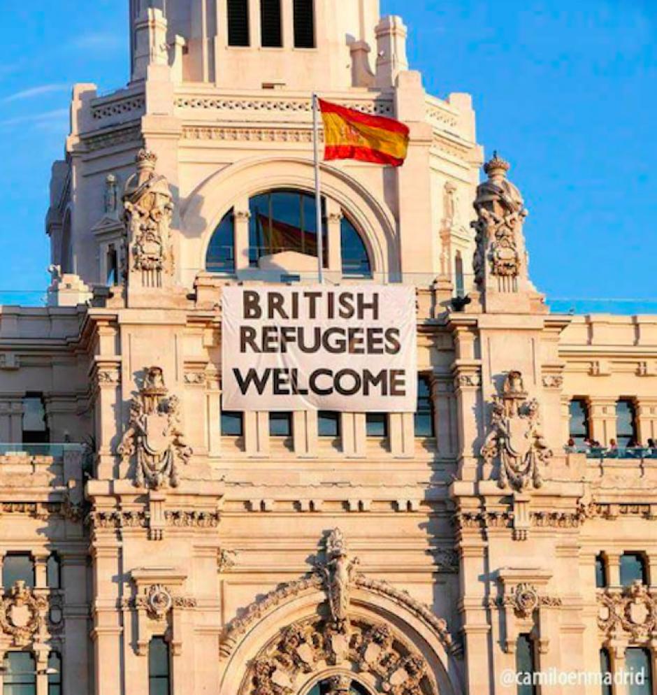 ¿Ahora serán los británicos los refugiados en otros países? (Imagen: sopitas.com)