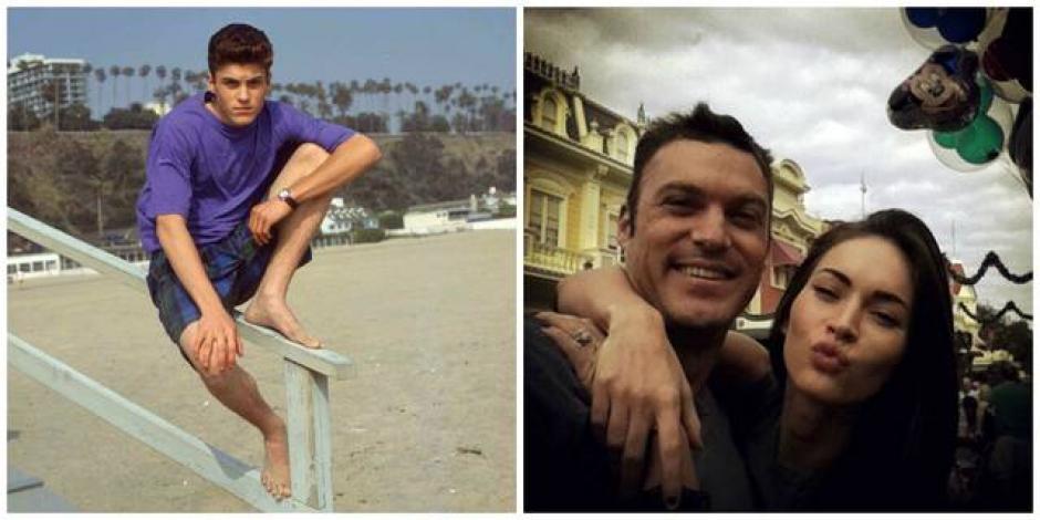 """Brian Austin Green actuaba como """"David Silver"""". (Foto: El Salvador.com)"""
