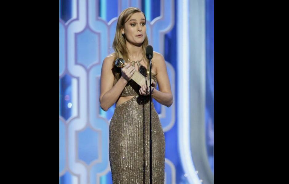 """Brie Larson se llevó el premio a Mejor Actriz por la película """"Room"""". (Foto: Exitoina)"""