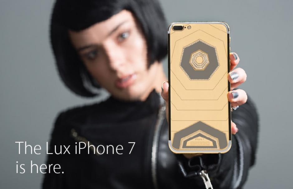 Ya se puede adquirir un iPhone 7 único y de lujo. (Foto: Brikk)