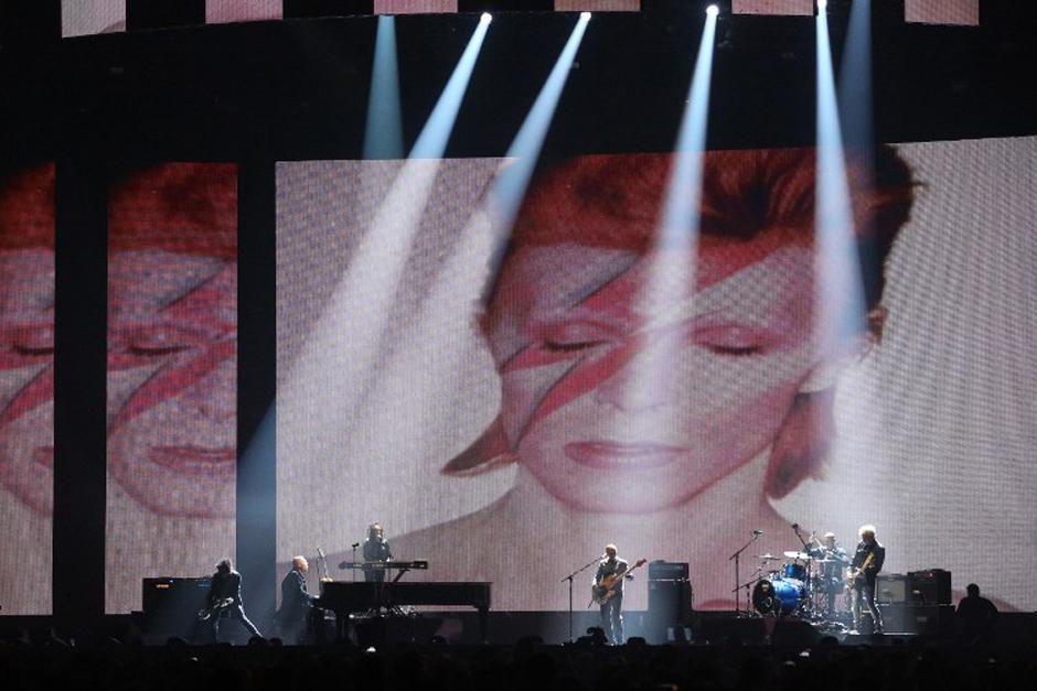 Lorde rinde un homenaje al fallecido David Bowie. (Foto: AFP)