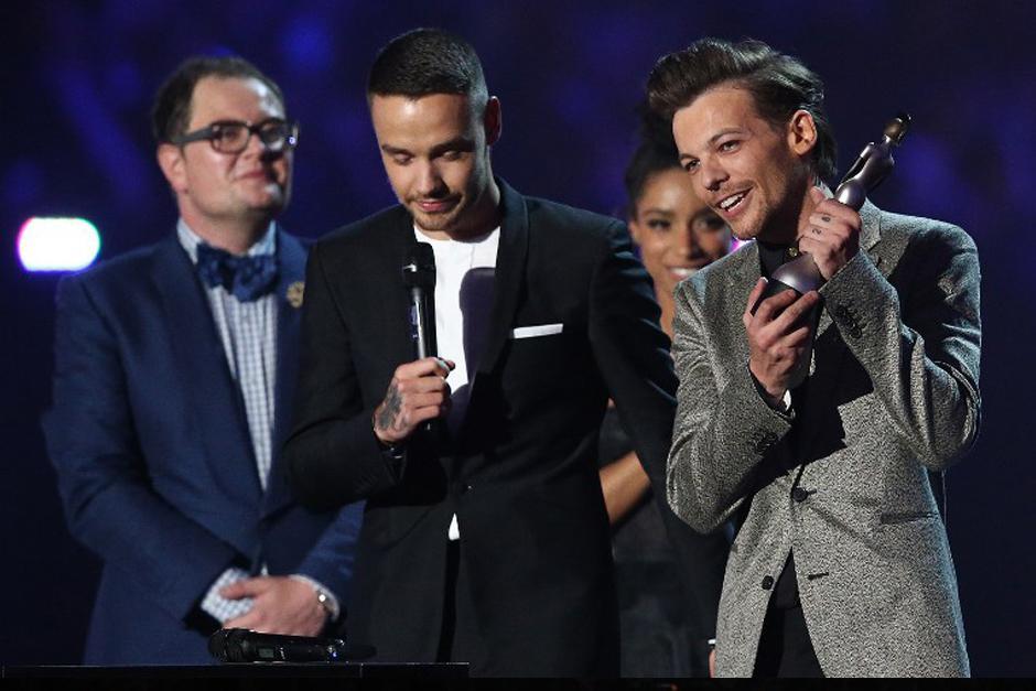 One Direction uno de los ganadores de la noche. (Foto: AFP)