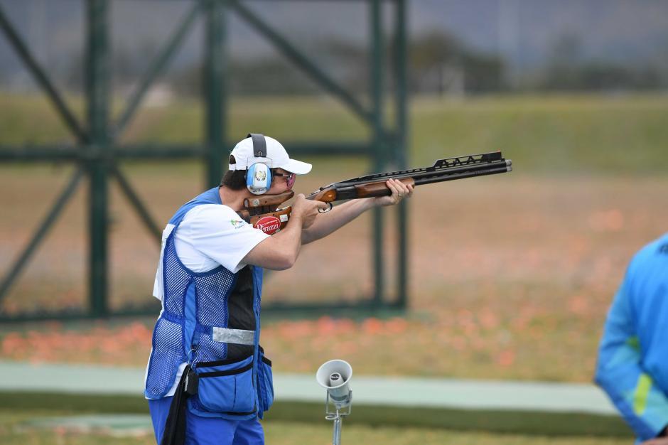Hebert Brol finalizó en el puesto 20 después de cinco rondas (200 disparos). (Foto: Aldo Martínez/Enviado de Nuestro Diario)