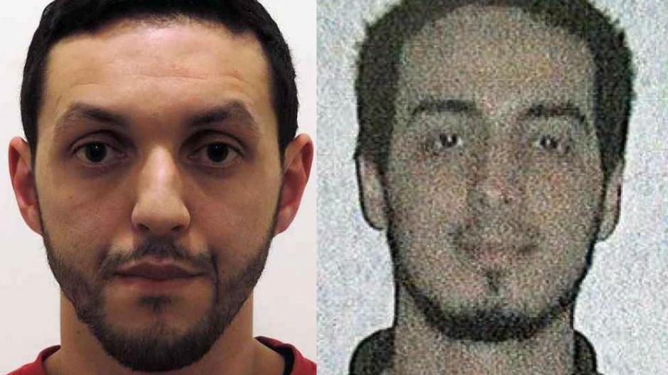 Mohamed Abrini y Najim Laachraoui, buscados por la policía belga. (Foto: El Confidencial)