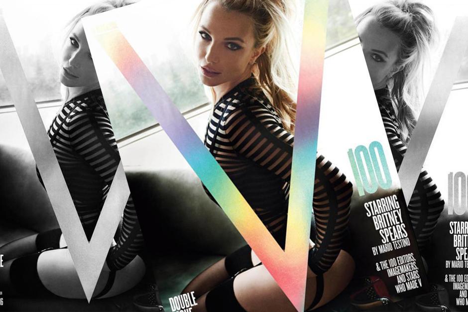 Algunos aseguran que Spears luce sensual. (Foto: V Magazine)