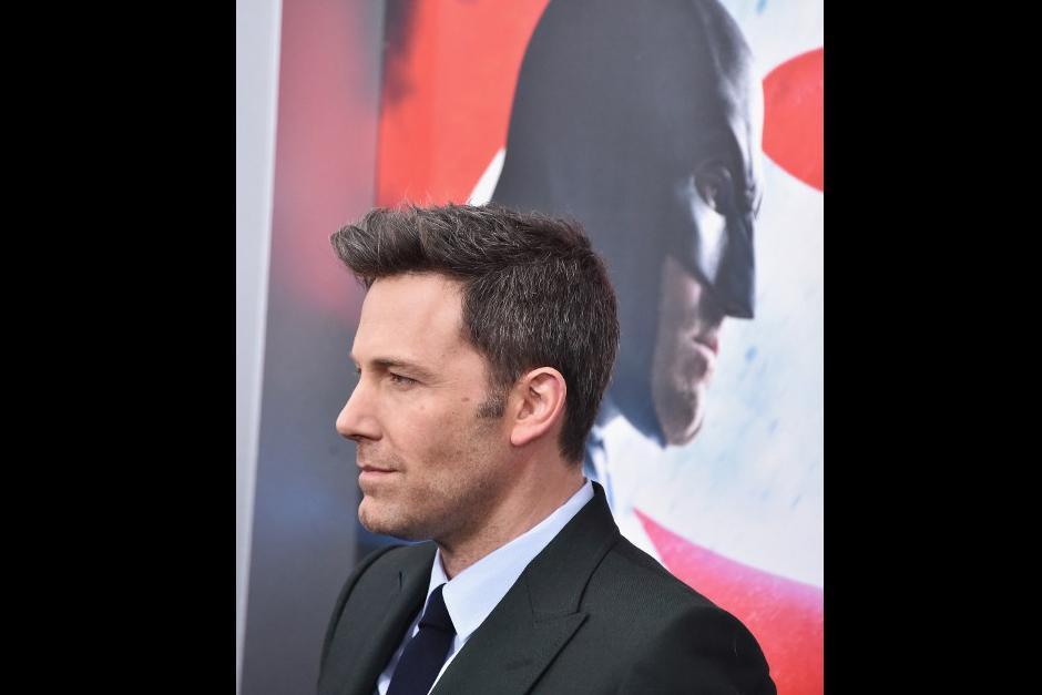 Ben Affleck en premiere de Batman Vs. Superman. (Foto: AFP)