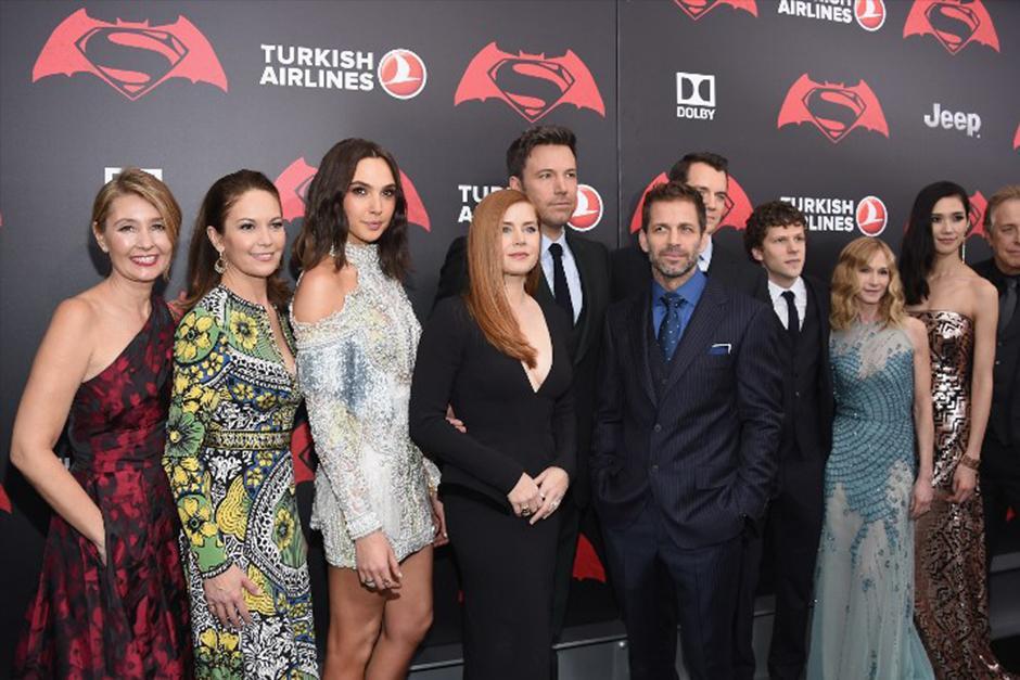 Algunos de los actores que forman parte de esta esperada cinta. (Foto: AFP)