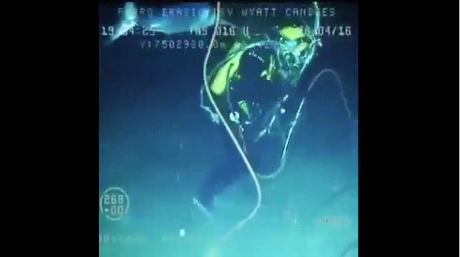 El buzo logró sobrevivir al ataque del pez. (Foto: Tomado de Yotube)