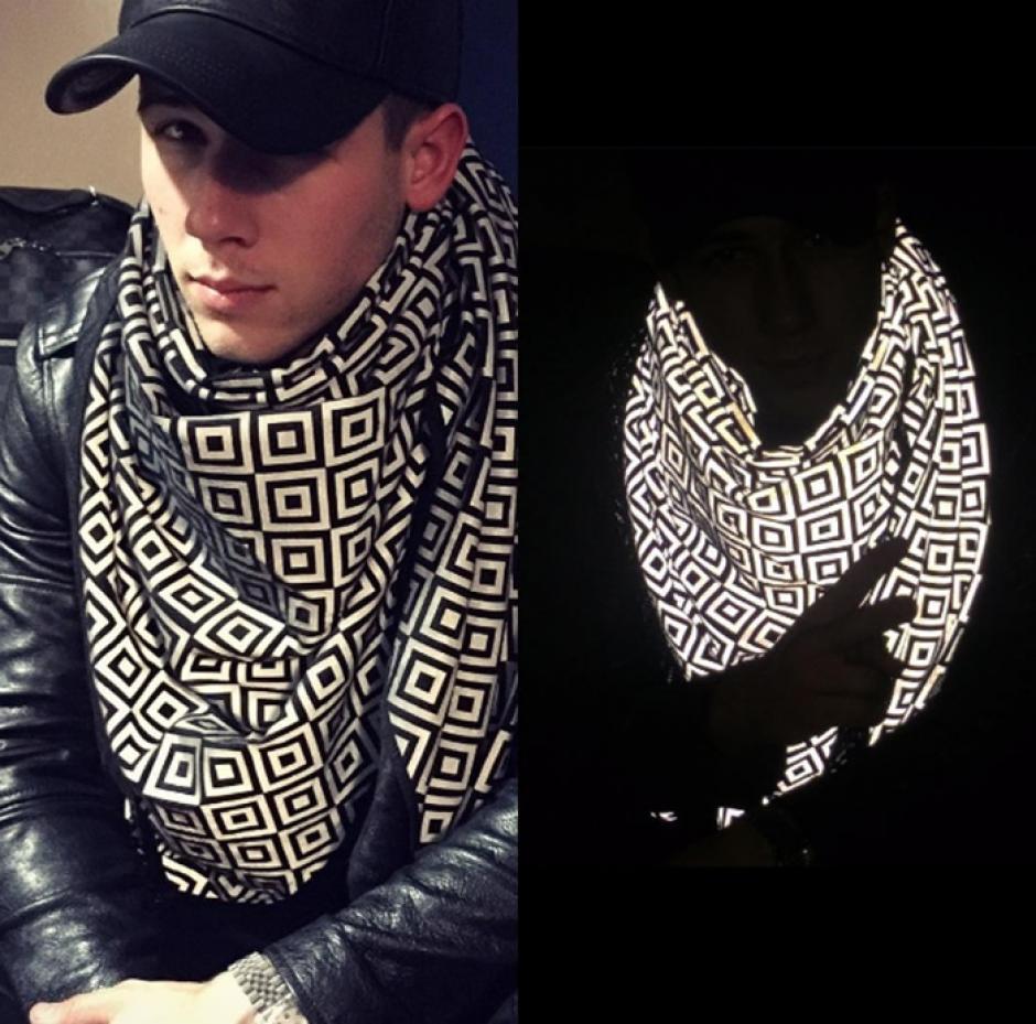 La bufanda fue creada por el empresario Saif Siddiqui. (Foto: celebfashion)