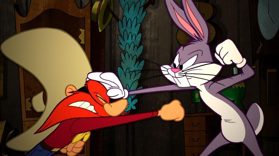 Sam ha sido uno de los enemigos con los que Bugs Bunny ha tenido que lidiar en sus caricaturas.