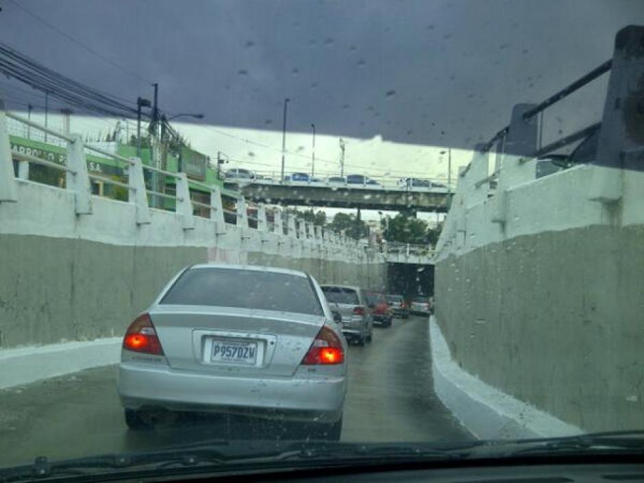Tráfico en el Bulevar San Cristónal.
