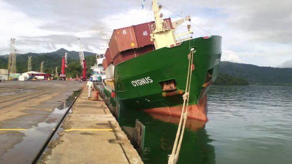 El buque carguero tuvo problemas en la distribución de carga. (Foto: Empornac)