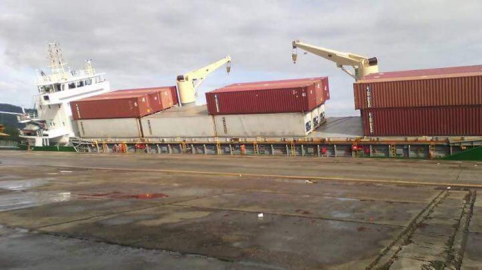 Así lucía el barco durante la mañana. (Foto: Empornac)