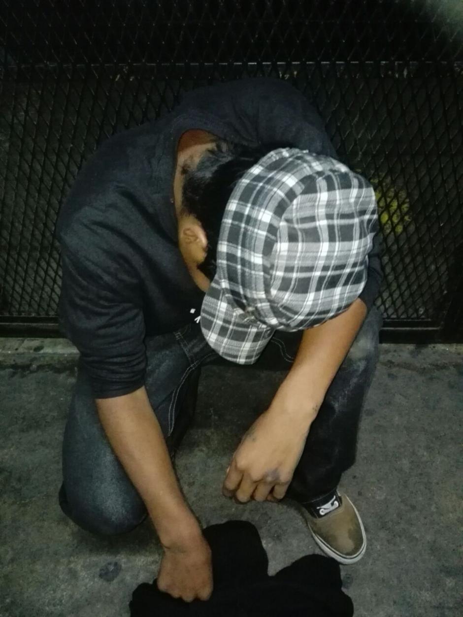 Un menor de 16 años fue detenido por aparentemente cometer un ataque contra piloto de la ruta 203. (Foto: PNC)