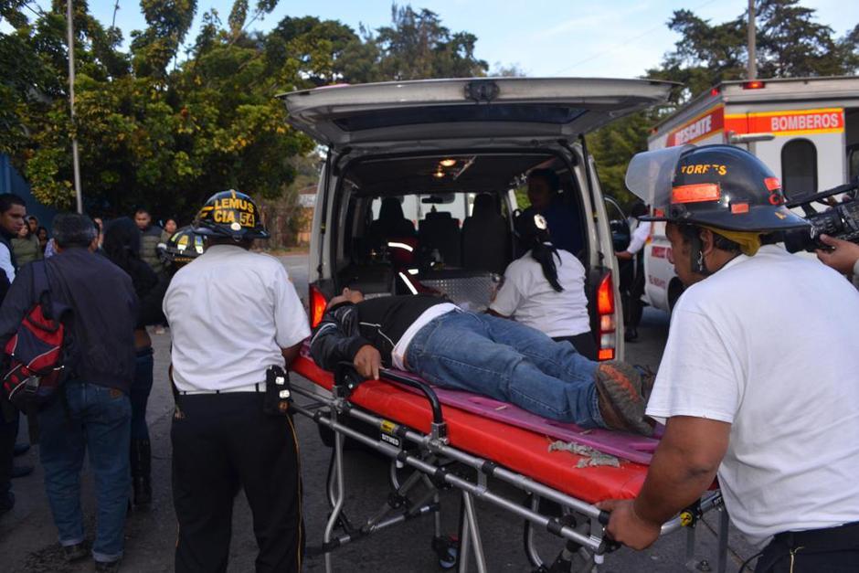 Se reporta un total de 34 personas heridas. (Foto: Bomberos Voluntarios)
