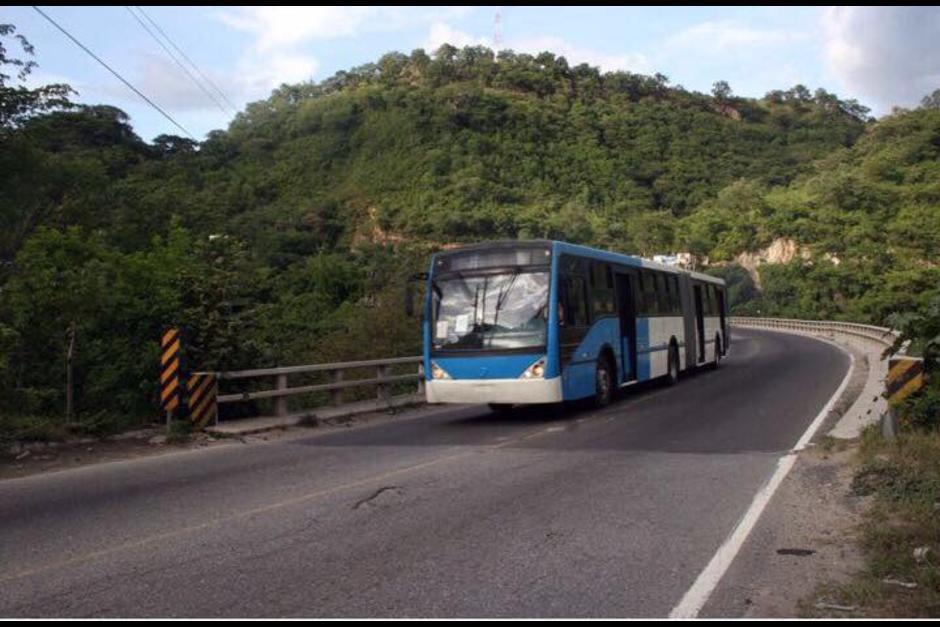 Los buses articulados que servirán para el Express Roosevelt. (Foto: Neto Bran/Facebook)