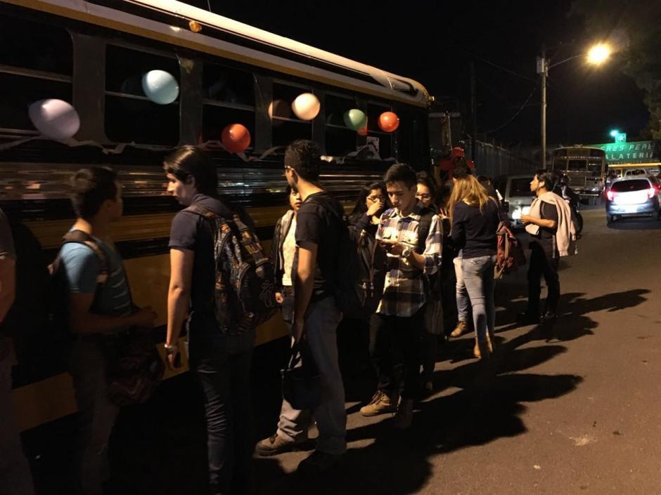 El proyecto constará de trece autobuses. (Foto: Fredy Hernández/Soy502)
