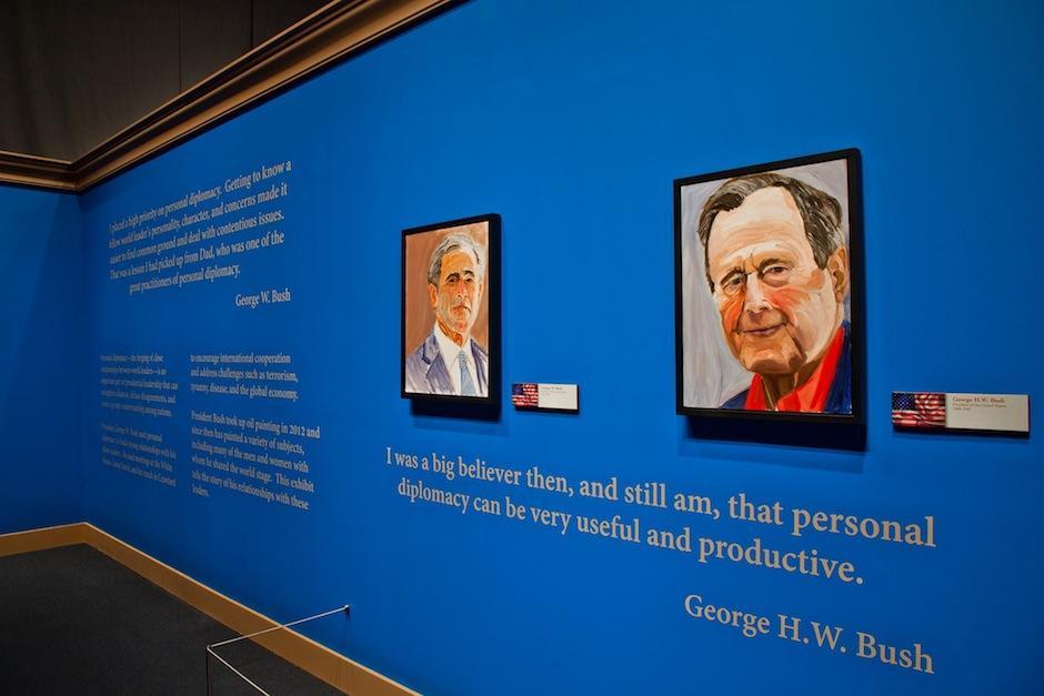 La pintura ha tomado un lugar importante en las actividades de George W. Bush. (Foto: George W. Bush Presidential Center)